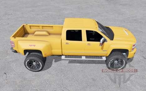 Chevrolet Silverado 3500 HD Crew Cab 2015 for Farming Simulator 2017