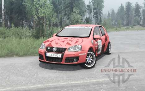 Volkswagen Golf GTI 3-door (Typ 1K) 2004 v1.1 for Spintires MudRunner