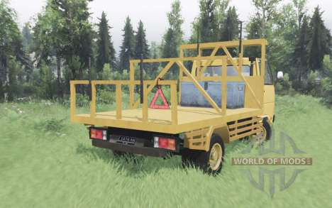 Mitsubishi Colt Diesel 125 PS for Spin Tires