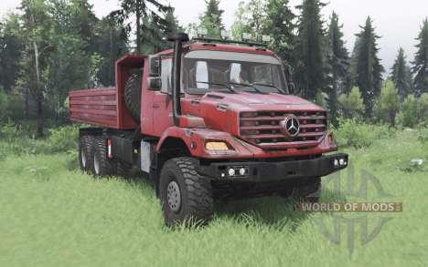 Mercedes-Benz Zetros 3643 A for Spin Tires