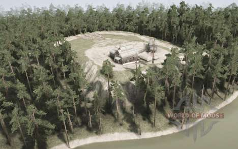 Western Siberia v1.1 for Spintires MudRunner