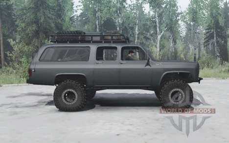 Chevrolet Suburban 1977 lifted for Spintires MudRunner