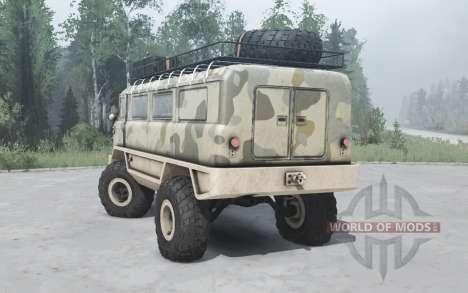 GAZ 66 Beaver v1.1 for Spintires MudRunner