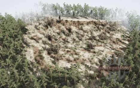 Siberian swamps v1.1 for Spintires MudRunner