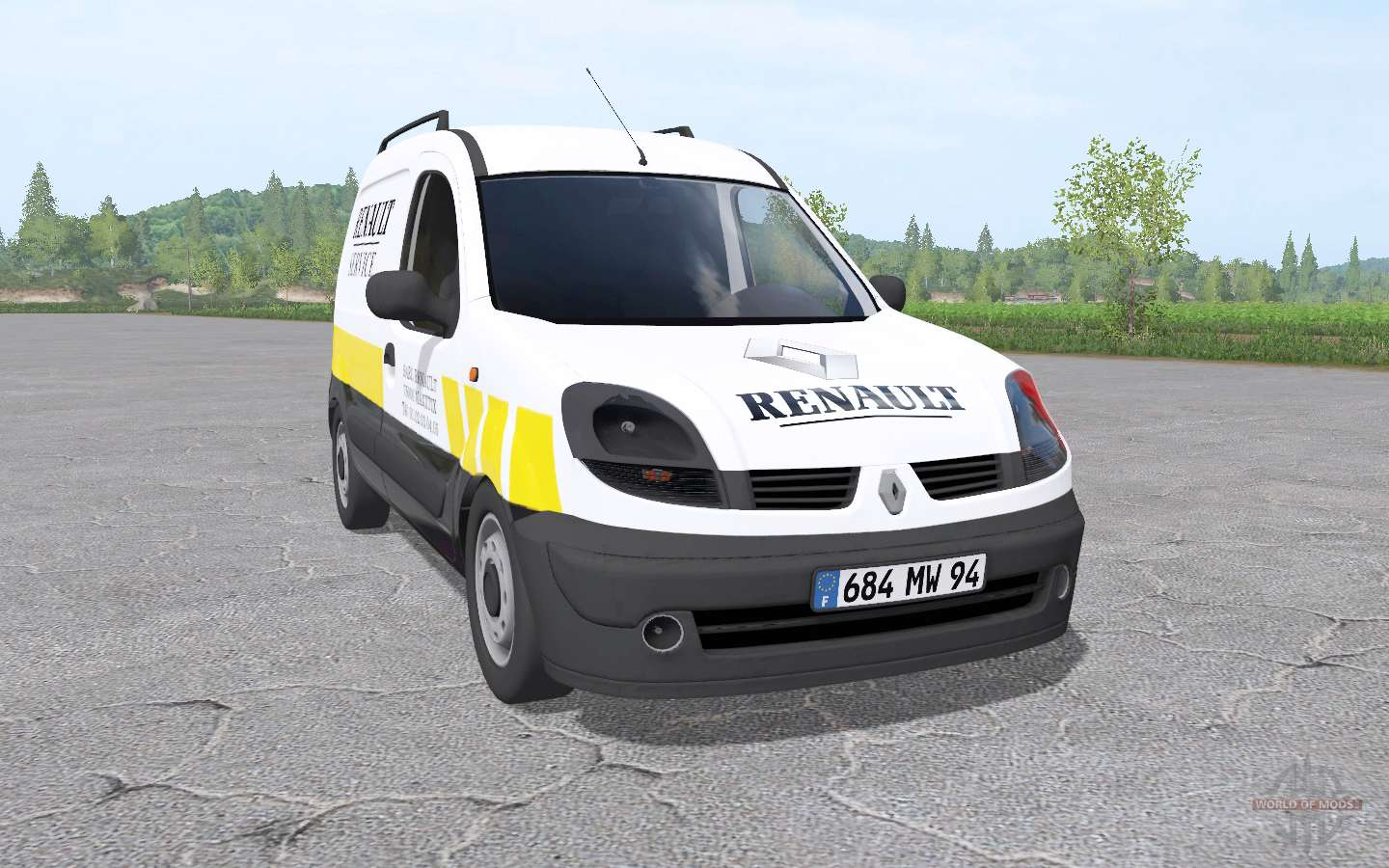 renault kangoo express 2004 for farming simulator 2017. Black Bedroom Furniture Sets. Home Design Ideas
