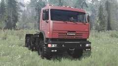 KamAZ 54115 collection for MudRunner