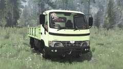Hino Dutro 2008 three-axle for MudRunner
