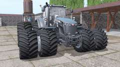 Massey Ferguson 8737 double wheels for Farming Simulator 2017