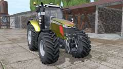 Massey Ferguson 7718 S gold design v1.1 for Farming Simulator 2017