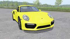 Porsche 911 Turbo S coupe (991) 2016 v1.0.0.1 for Farming Simulator 2017