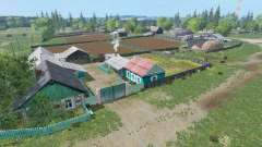 The village of Kurai v1.7 for Farming Simulator 2015