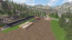 The Abandoned Forest for Farming Simulator 2017
