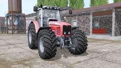 Massey Ferguson 6475 v1.1 for Farming Simulator 2017