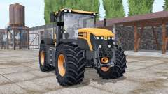 JCB Fastrac 4220 orange more options for Farming Simulator 2017