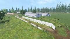The village Kuray v2.1 for Farming Simulator 2015