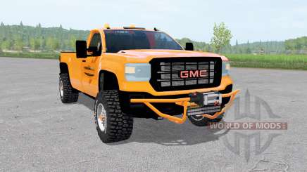 GMC Sierra 2500 HD Regular Cab 2016 service for Farming Simulator 2017