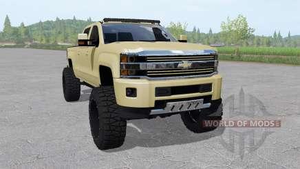 Chevrolet Silverado 2500 HD High Country 2015 for Farming Simulator 2017