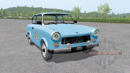 Trabant 601 1963 v3.0 for Farming Simulator 2017