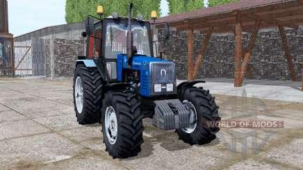 MTZ Belarus 1221.2 blue v2.0 for Farming Simulator 2017