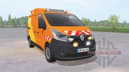 Renault Trafic Van (X82) 2014 DIR Ouest for Farming Simulator 2017