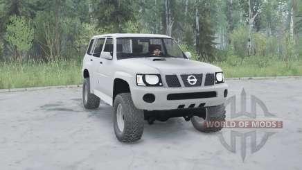 Nissan Patrol GU 5-door (Y61) 2004 for MudRunner