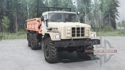 Ural 55223 1987 for MudRunner