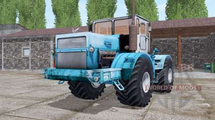 Kirovets K-700A light blue for Farming Simulator 2017