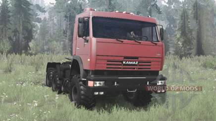 KamAZ 54115 collection for MudRunner