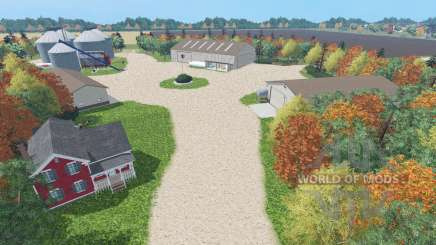 Small-Town America v2.0 for Farming Simulator 2015