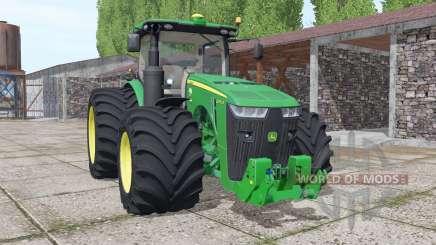 John Deere 8370R USA v4.0 for Farming Simulator 2017