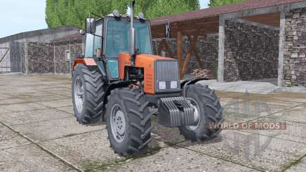 MTZ-1221 Belarus color selection v1.1 for Farming Simulator 2017