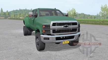 Chevrolet Silverado 4500 HD Crew Cab 2018 for Farming Simulator 2017