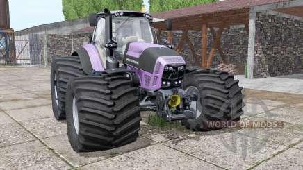 Deutz-Fahr Agrotron 7230 TTV purple for Farming Simulator 2017