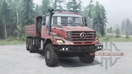 Mercedes-Benz Zetros 3643 A for MudRunner