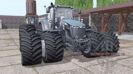 Massey Ferguson 8737 double wheels for Farming Simulator 2017