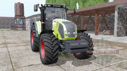CLAAS Axion 850 animation parts for Farming Simulator 2017