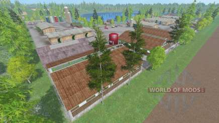 Lakeside Farm v1.1 for Farming Simulator 2015