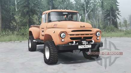 ZIL 130 Ginger for MudRunner