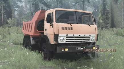 KamAZ 55111 1980 for MudRunner