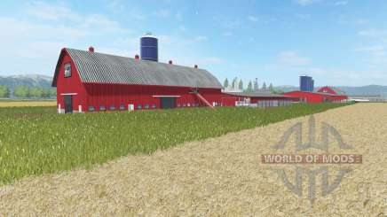 Canadian West Meadow for Farming Simulator 2017