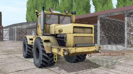 Kirovets K-700A engine selection for Farming Simulator 2017