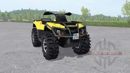 Can-Am Outlander 1000 XT v2.1 for Farming Simulator 2017