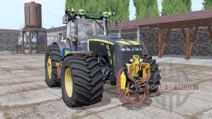 John Deere 8130 Black Shadow v2.2 for Farming Simulator 2017