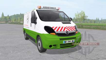 Opel Vivaro Van 2006 assistance technique v1.01 for Farming Simulator 2017