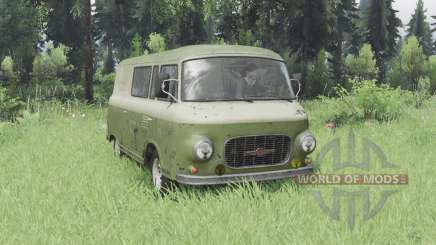 Barkas B1000 KM 1961 for Spin Tires