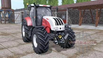 Steyr 6180 CVT new dynamic smoke for Farming Simulator 2017
