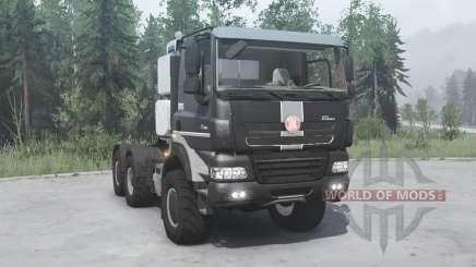 Tatra Phoenix T158-8P5 6x6 2011 for MudRunner
