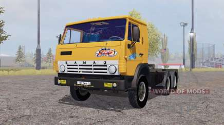 KamAZ 5410 with trailer 1972 for Farming Simulator 2013