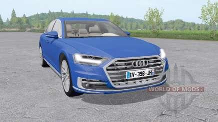 Audi A8 TFSI quattro (D5) 2018 v2.0 for Farming Simulator 2017