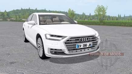 Audi A8 TFSI quattro (D5) 2018 for Farming Simulator 2017